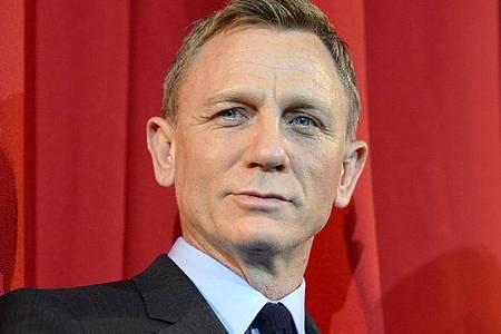Daniel Craig schlüpft ein letztes Mal in die Rolle des Geheimagenten James Bond. Foto: Britta Pedersen/zb/dpa