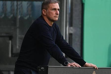 Stefan Kuntz ist der Trainer der U21-Nationalmannschaft. Foto: Arne Dedert/dpa