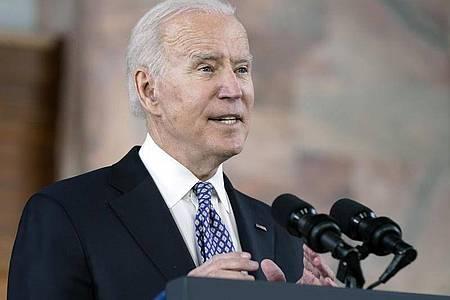 US-Präsident Joe Biden ruft das Land zum Engagement gegen Rassismus auf. Foto: Patrick Semansky/AP/dpa