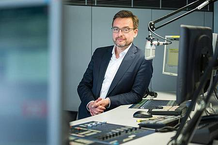 Martin Grasmück ist seit dem 1. Mai neuer Intendant des Saarländischen Rundfunks (SR). Foto: Oliver Dietze/dpa