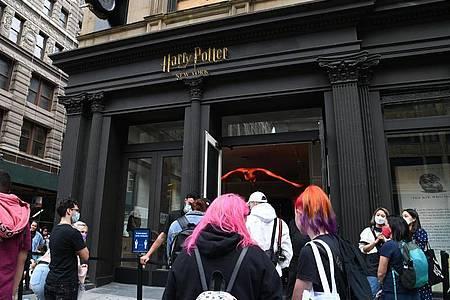 Im Herzen von Manhattan:der Harry Potter Flagship Store. Foto: Louis Lanzano/ZUMA Wire/dpa
