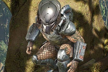 Der Predator hat sich schon mit Arnold Schwarzenegger und den ätzenden Aliens angelegt. Jetzt geht es in unzählige Multiplayer-Gefechte. Foto: Sony Interactive Entertainment/dpa-tmn