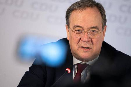 CDU-Chef Armin Laschet spricht sich für eine parteiübergreifende Rentenreform aus. Foto: Federico Gambarini/dpa