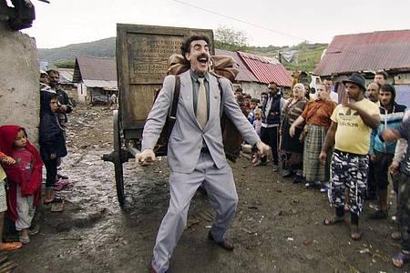Die «Borat»-Fortsetzung von Sacha Baron Cohen hat bei den MTV Movie & TV Awards drei Gewinnchancen. Foto: -/Amazon Studios/AP/dpa