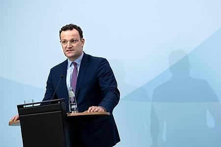 «Es hat Russland vor allem in der Hand, ob und wie es mit Nord Stream 2 weitergehen kann», sagt Jens Spahn. Foto: Bernd von Jutrczenka/dpa