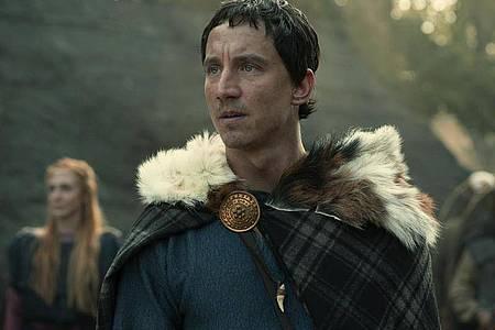 Arminius/Hermann (Laurence Rupp) lehrt die Römer das Fürchten. Foto: Katalin Vermes/Netflix/dpa