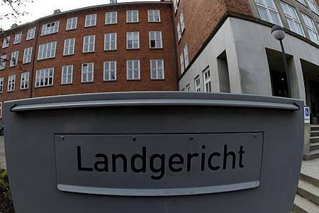 Blick auf das Gebäude des Landgerichtes in Kiel (Schleswig-Holstein). Foto: picture alliance / dpa