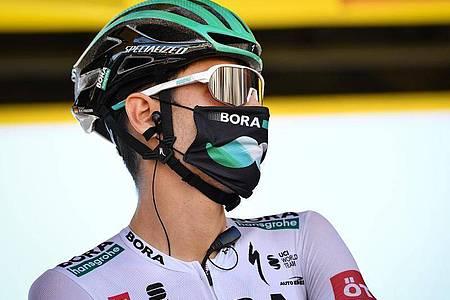 Konnte seinen Konkurrenten in der Pyrenäen nicht folgen: Emanuel Buchmann. Foto: David Stockman/BELGA/dpa