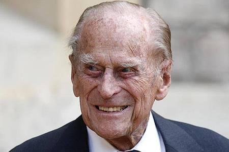 Der britische Prinz Philip, Herzog von Edinburg (2020). Foto: Adrian Dennis/PA Wire/dpa