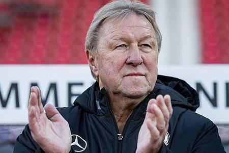 Wird Nachwuchsdirektor beim Hamburger SV: Horst Hrubesch. Foto: Robert Michael/dpa