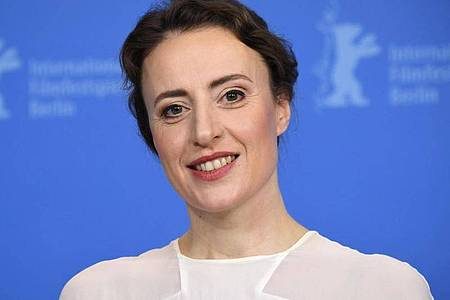 Maren Eggert gewinnt einen Silbernen Bären der Berlinale. Foto: Ralf Hirschberger/dpa