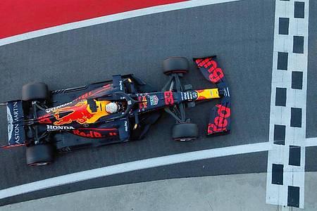 Das Team Red Bull Racing sucht einen neuen Motorenpartner. Foto: Frank Augstein/PoolAP/dpa