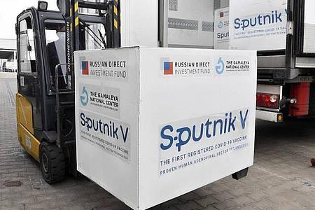 Mehrere Länder-Regierungschefs sprchen sich für eine rasche Zulassung des russischen Vakzins Sputnik V aus. Foto: Zoltan Mathe/MTI/AP/dpa