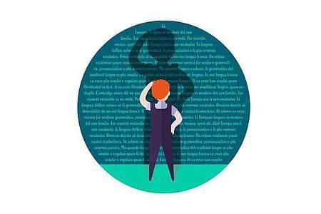 Menschen mit Legasthenie haben oft Schwierigkeiten, Texte schnell zu erfassen. Auszubildende können aber zum Beispiel für Prüfungen Hilfestellungen beantragen. Foto: dpa-infografik GmbH/dpa-tmn