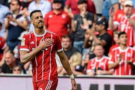 Sagt dem aktiven Fußball Servus: Ex-Bayern-Stürmer Sandro Wagner. Foto: Matthias Balk/dpa