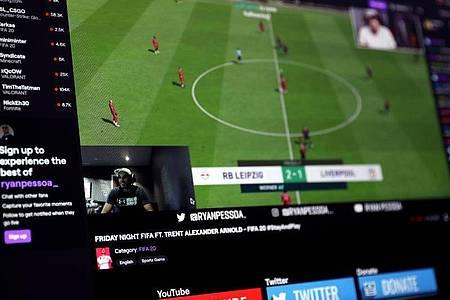 Videospiele wie FIFA 20 sind das Kerngesschäft der Streaming-Plattform Twitch. Foto: Scott Wilson/PA Wire/dpa