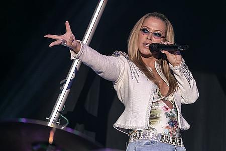 Anastacia auf der Bühne
