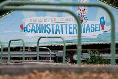 Die Cannstatter Wasen finden in diesem Jahr nicht statt. Foto: Marijan Murat/dpa