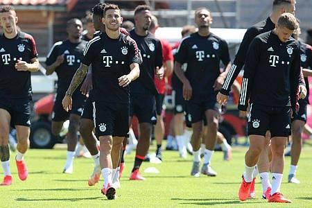 Mit Respekt und in guter Verfassung: Der FC Bayern München ist bereit für das Rückspiel gegen den FC Chelsea. Foto: M. Donato/FC Bayern/dpa