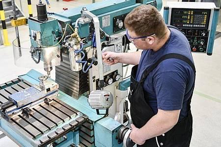 Seit er seine Ausbildung zur Fachkraft Metalltechnik absolviert, macht Robin Stenzel auch privat alle Standard-Reperaturen selbst. Foto: Kirsten Neumann/dpa-tmn