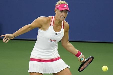 Gewann souverän ihr Drittrunden-Match bei den US Open: Angelique Kerber. Foto: Seth Wenig/AP/dpa