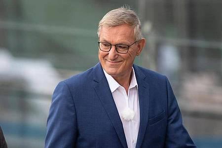Linken-Chef Bernd Riexinger will sich nach dem Kipping-Aus zu seiner Zukunft als Parteichef äußern. Foto: Paul Zinken/dpa-zb-Zentralbild/dpa
