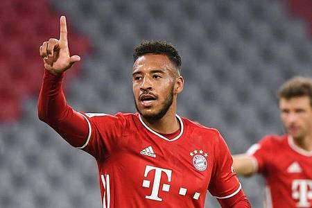 Corentin Tolisso meldete sich beim FCBayern München zurück. Foto: Sven Hoppe/dpa-Pool/dpa