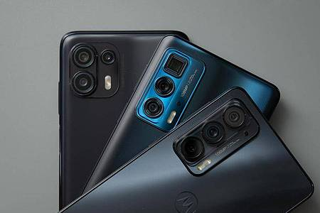 Motorolas Edge-Serie kommt mit 5G-Funk und Wifi6 auf den Markt. Foto: Zacharie Scheurer/dpa-tmn