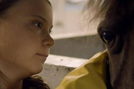 Persönliche Momente:Greta Thunberg. Foto: Filmwelt Verleihagentur/dpa