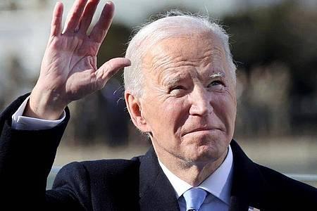 US-Präsident Joe Biden ist am Donnerstag genau 100 Tage im Amt. Foto: Jonathan Ernst/Pool Reuters/AP/dpa