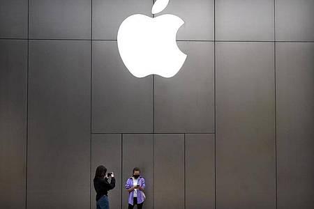Apple wird am 14. September neue Produkte vorstellen. Foto: Mark Schiefelbein/AP/dpa