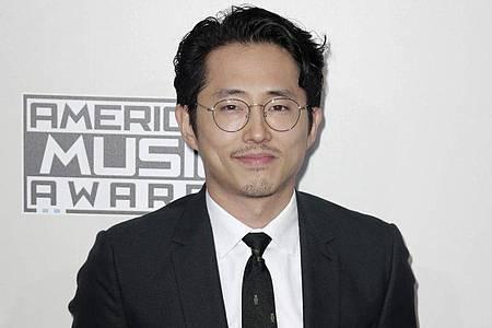 Steven Yeun ist als bester Hauptdarsteller für einen Oscar nominiert. Foto: Paul Buck/EPA/dpa