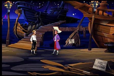 «The Secret of Monkey Island» ist eine humorvolle Piratengeschichte und genießt Kult-Status. Foto: Lucasarts/dpa-tmn