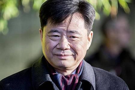 Der chinesische Botschafter in Deutschland, Wu Ken. Foto: Christoph Soeder/dpa