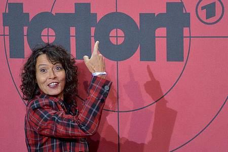 Ulrike Folkerts ist seit 31 Jahren Lena Odenthal. Foto: Axel Heimken/dpa