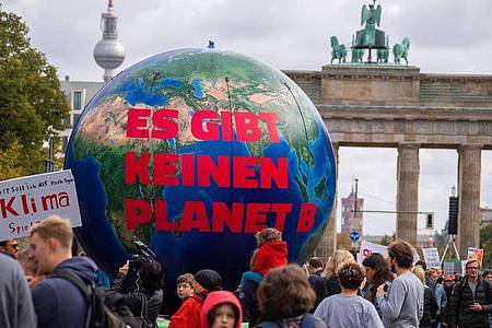 Im September 2019 demonstrierte Fridays for Future noch vor dem Brandenburger Tor. Foto: Jens Büttner/zb/dpa