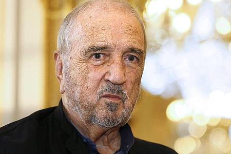 Jean-Claude Carrière, französischer Drehbuchautor und Oscar-Preisträger (2014). Foto: Patrick Kovarik/AFP/dpa