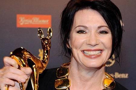 Iris Berben ist mit vielen Preisen ausgezeichnet worden - darunter auch ein Bambi. Foto: picture alliance / dpa