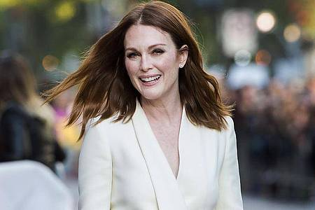 Julianne Moore 2017 bei der Premiere des Films «Suburbicon» in Toronto. Foto: Nathan Denette/The Canadian Press/AP/dpa