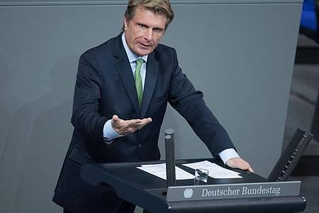 Der Tourismusbeauftragte der Bundesregierung, Thomas Bareiß (CDU). Foto: Jörg Carstensen/dpa