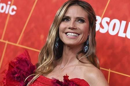 Heidi Klum saß als «Zuschauerin der Woche» im Publikum. Foto: Jordan Strauss/Invision/AP/dpa/Archiv