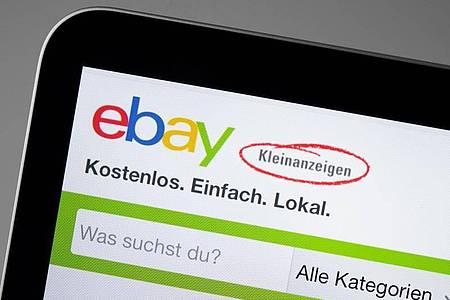 Sicher ist sicher: Über kurz oder lang müssen alle Nutzerinnen und Nutzer von Ebay-Kleinanzeigen eine Telefonnummer angeben und verifizieren lassen. Foto: Catherine Waibel/dpa-tmn