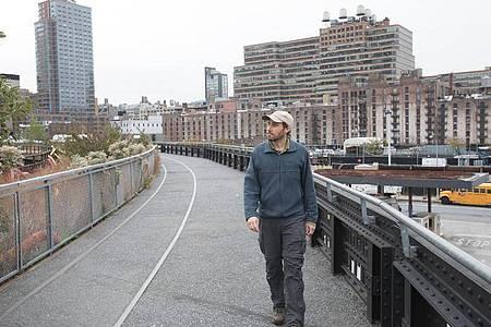 Flaneur Matt Green macht eine Reise durch die Geschichte New Yorks. Foto: Michael Berman/Happy Entertainment/dpa