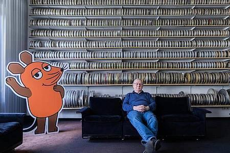 Armin Maiwald ist einer der Väter der Maus. Foto: Rolf Vennenbernd/dpa