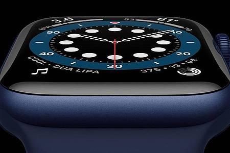 Apple hat die neue Apple Watch Series 6 vorgestellt. Foto: ---/Apple Inc./dpa