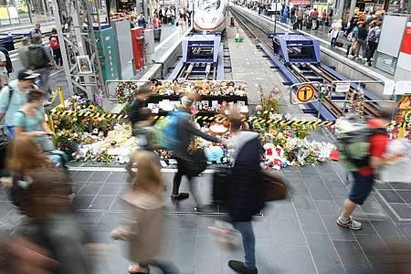 Im Prozess um die tödliche Gleisattacke am Frankfurter Hauptbahnhof wird das Urteil erwartet. Foto: Arne Dedert/dpa
