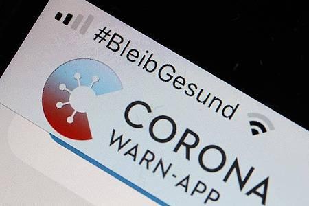 Die Corona-Warn-App. Foto: Oliver Berg/dpa