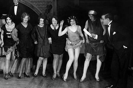 Tanzwettbewerb im Jahr 1926. Foto: UPI/dpa