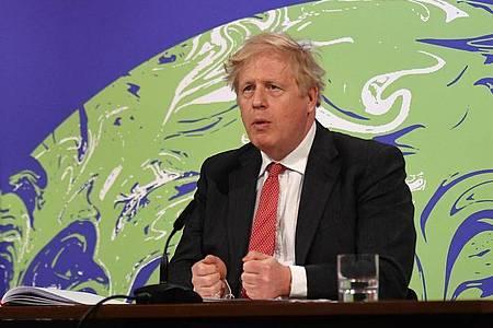 Boris Johnson, Premierminister von Großbritannien. Foto: Justin Tallis/PA Wire/dpa