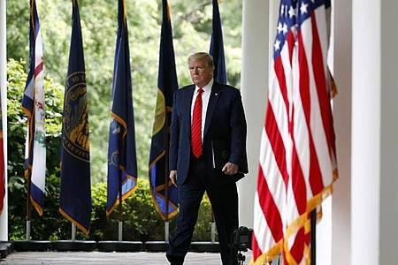 US-Präsident Donald Trump will selbst keine Maske tragen. Foto: Alex Brandon/AP/dpa